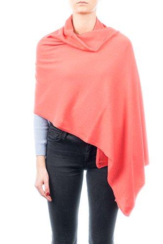 DALLE PIANE CASHMERE - Stola aus Kaschmir-Gemisch - für Damen, Farbe: Orange, Einheitsgröße -