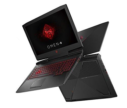 HP Omen 17-AN010TX Laptop (Windows 10, 6GB RAM, 1000GB HDD) Shadow Black Price in India