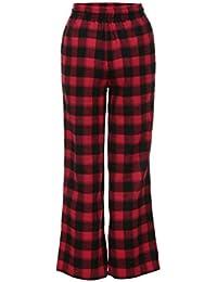 La Flojos DRESS La Pantalones A De Mujeres Escocesa Cuadros Las De Costura start Alta De Tela 8RqAqxEwp