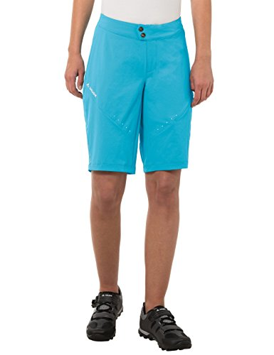 VAUDE Damen Hose Topa Shorts, Polar Sea, 36, 05480 Polar Shorts