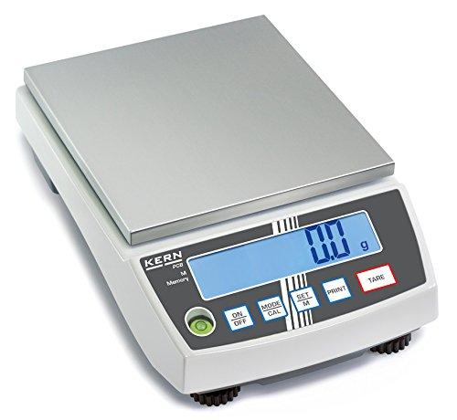 Präzisionswaage - Die wirtschaftliche Lösung für kluge Rechner [Kern PCB 6000-0] Präzision bis 1 g, Wägebereich max. 6000 g