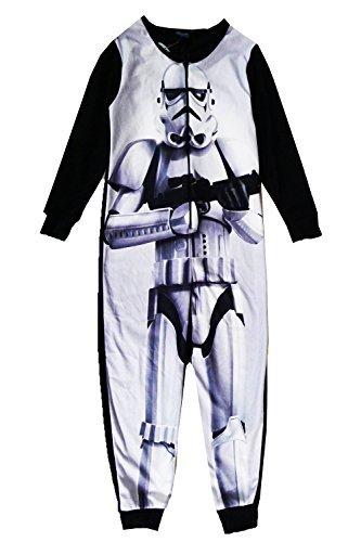 Star Wars Bambini Pigiama T-shirt Maglietta All In Uno Assortiti Abbigliamento - Stormtrooper - Tuta, 4-5 anni