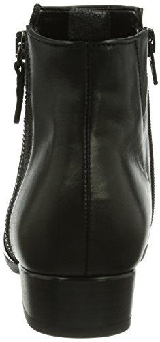Gabor Shoes 92.713.57 Damen Kurzschaft Stiefel Schwarz (schwarz (Micro))