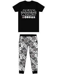 DISNEY, STAR WARS - Pijama Dos Piezas - para niño