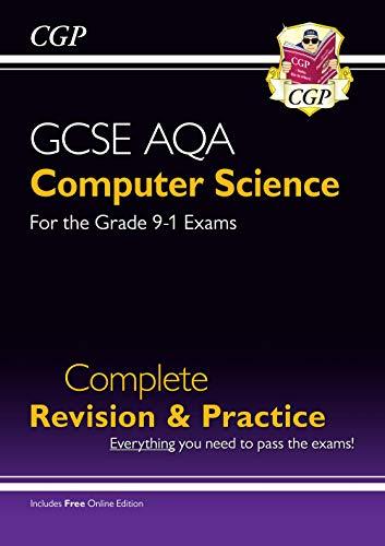 Price comparison product image New GCSE Computer Science AQA Complete Revision & Practice - Grade 9-1 (with Online Edition) (CGP GCSE Computer Science 9-1 Revision)