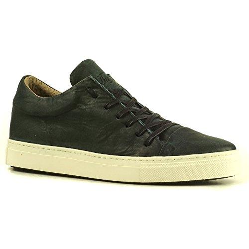 Buffalo Herren ES 30898 Schuhe Sneakers Turnschuhe Schnürer Leder (41, Blau (Petrol)) (Buffalo Herren)
