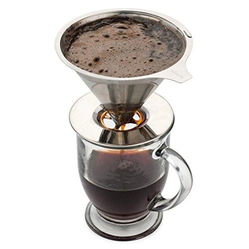 Kaffeefilter Edelstahl hicollie edelstahl kaffeefilter wiederverwendbar kaffee filter
