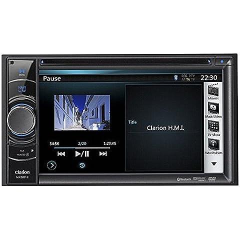 Clarion Navigation Auto Radio 2 DIN DVD USB mit Bluetooth passend für BMW 1 E87 4/5 Türer 03/2007-06/2011 incl