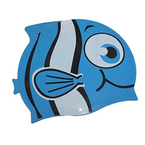 Dianoo para niños impermeable orejeras gorra de baño con alta calida