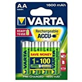 Batterie Varta type AA Mignon 1600 mAh (Protection contre la décharge)