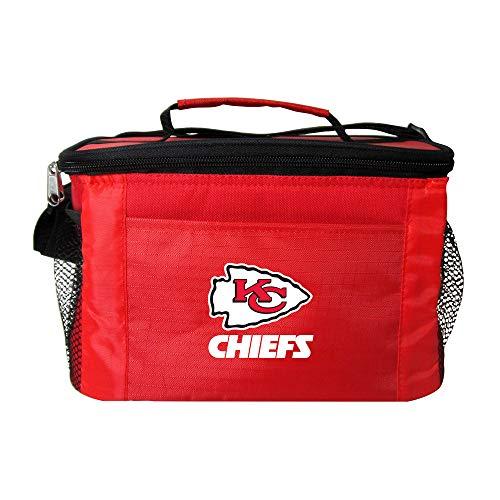 Kolder NFL Team Logo Kühltasche, 6 Stück, Kansas City Chiefs Red -