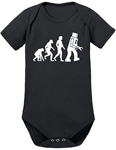 TLM Evolution Robot Babybody 68 (Biker Kostüm Baby Halloween)