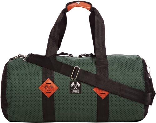 Trainerspotter, Herren Tasche Schultertasche, Green Polka (Grün) - TS511D Green Polka