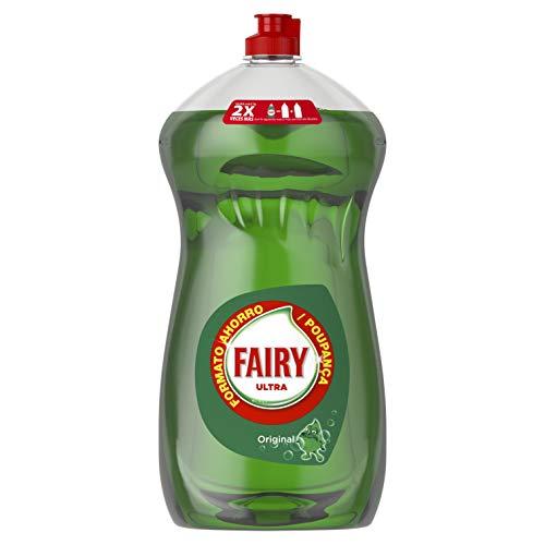 Fairy Ultra, Líquido lavavajillas verde oscuro sin