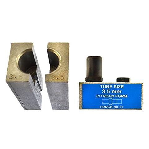 Tuyau de frein Citroen 3.5mm Flare Torchage poinçon et outil Single / Double FL45