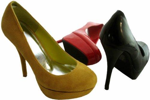 RTB , Escarpins pour femme Noir - Noir verni