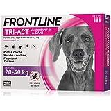 3 Pipette Frontline Tri-Act Spot-On per Cani L  (20 - 40 kg)