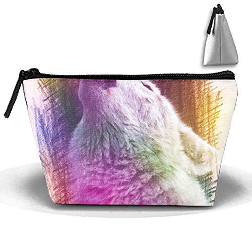 Wolf's Call Travel Toiletry Bag/Shaving Grooming Kit/Makeup Bag Organizer -