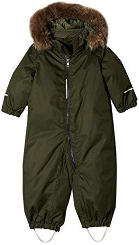 NAME IT Baby-Jungen NMMSNOW08 Suit SOLID 1FO NOOS Schneeanzug, Grün Rosin, (Herstellergröße: 86)