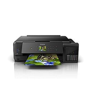 Epson EcoTank ET-7750 nachfüllbares 3-in-1 Tintenstrahl Multifunktionsgerät (Kopierer, Scanner, Drucker, DIN A3, 5 Farben, Fotodruck, Duplex, USB 2.0, niedrige Seitenkosten)