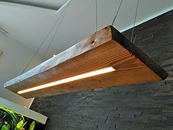 deckenlampe h ngelampe pendelleuchte aus holz holzlampe douglasie nussbaum 120cm h ngeleuchte. Black Bedroom Furniture Sets. Home Design Ideas