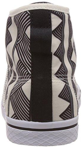 adidas Originals Honey Mid, Sneakers Hautes femme Multicolore (core Black/off White/core Black)