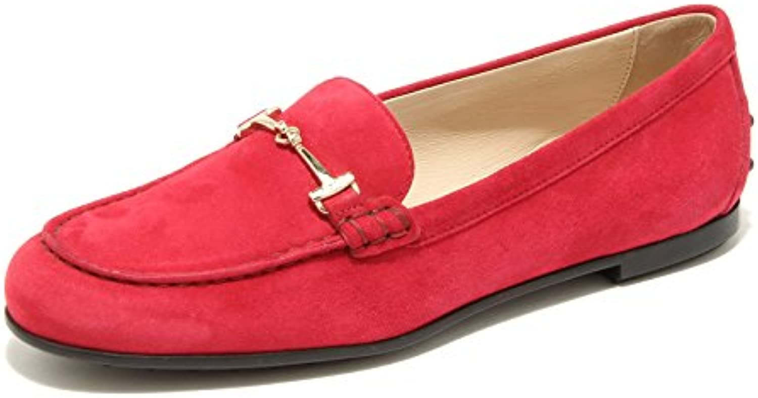 96493 mocassino TOD'S MOC GOMMA scarpa donna loafer shoes women
