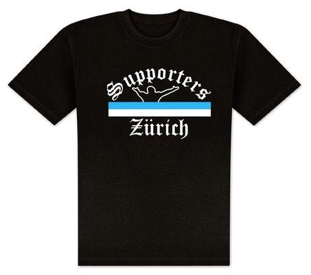World of Football T-Shirt Supporters-Zürich - S