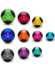 Medizinball »Medical« / 1kg 2kg 3kg 4kg 5kg 6kg 7kg 8kg 9kg 10kg / Fitnessball / Gewichtsball / Leichte bis sehr schwere Gymnastikbälle in Studio-Qualität aus rutschfesten PVC