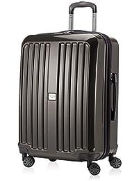 """HAUPTSTADTKOFFER® """"Xberg"""" Ensemble ou à la pièce, dans différentes tailles et couleurs (42L, 90L et 126L) Valise Rigide Brillante avec serrure TSA"""