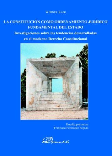 La Constitución Como Ordenamiento Jurídico Fundame por Unknown