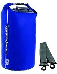 Overboard wasserdichte Trockenröhrentasche mit verstellbarem Schulterriemen zum Bootfahren, Kajak, Angeln, Rafting, Schwimmen, Camping und Snowboarden