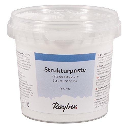 Rayher 38238000 Strukturpaste, fein, Dose 500 g