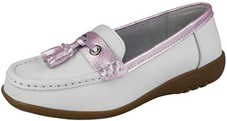Cassie Chaussures bateau en Cuir véritable véritable véritable à gland à enfilerB06XRX8HZTParent   En Ligne    Sale Online    Shop    Matière Choisie    Stocker  53dec8