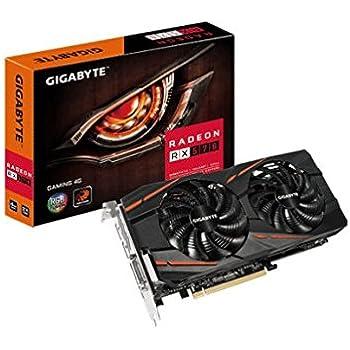 Gigabyte GV-RX570GAMING-4GD Radeon RX 570 Gaming 4G - Tarjeta gráfica, GDDR5, AMD, 7680 x 4320 Pixeles, 1255 MHz