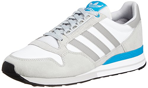 adidas Zx 500 Og, Baskets mode mixte adulte Gris (Neo White S08/Mgh Solid Grey/Solar Blue2 S14)