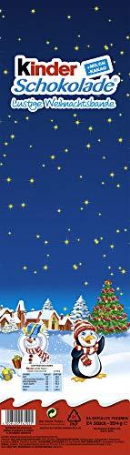 Calendario Avvento Kinder.Kinder Calendario Dell Avvento 24 Figure Ovali Ripiene
