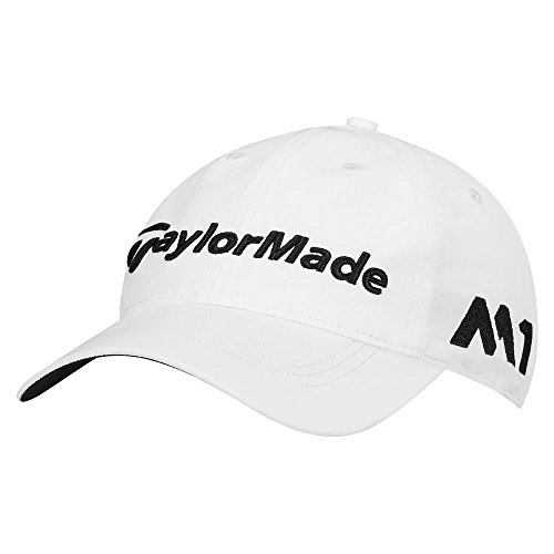 taylormade-2017-litetech-tour-authentic-unstructured-hat-mens-golf-cap-adjustable-white