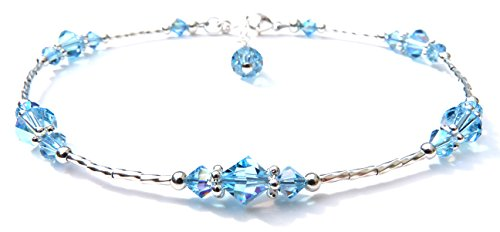 damali-handmade-whispers-sterling-silver-beaded-anklet-simulated-birthtstone-aquamarine-march-medium