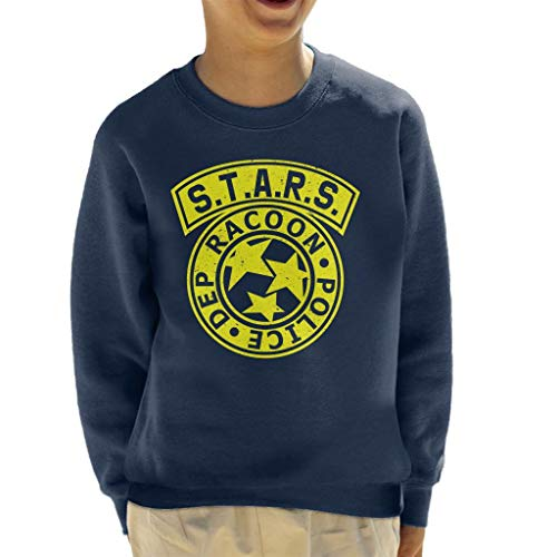 Cloud City 7 Resident Evil STARS Police Logo Kid's Sweatshirt