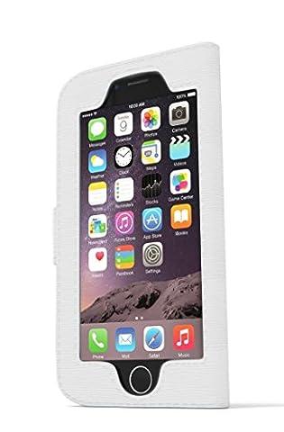 iWallie classique pour iPhone 6 Étui portefeuille en cuir synthétique pour unifier votre numérique-analogique sans soudure de l'accès et de la durée de Protection élégante pour votre