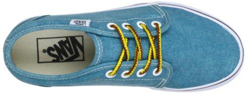 Vans U 106 VULCANIZED VR2I7Y2 Unisex-Erwachsene Sneaker Türkis (Washed) tile b)