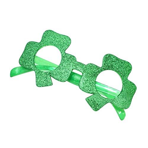 luoem Brille Kostüm irische Leprechaun Zubehör Kostüm Saint Patrick Kleeblatt - Saint Kostüm Für Erwachsene