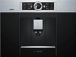Bosch CTL636ES6 Einbau-Kaffee-Vollautomat / 2.4/ 59.4 cm / One-Touch Zubereitung / HomeConnect / edelstahl