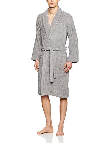 Preisvergleich Produktbild GANT Herren Bademantel Terrycloth Robe,  Grau (Grey),  X-Large