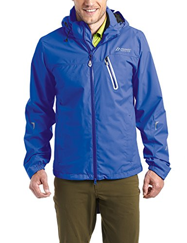 Maier Sports Herren Rad-Wander-Jacke Tour Cycle M Dazzling Blue, 50