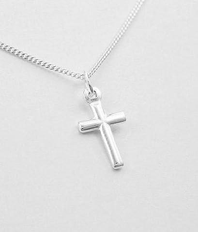 Petite Croix Argent - 013. Petit pendentif