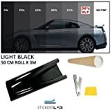 StickersLab - Pellicola oscurante antigraffio per vetri auto VLT...