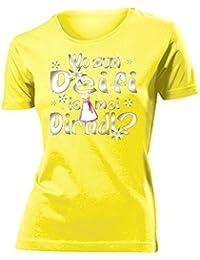 WO ZUM DEIFI IS MEI DIRNDL ? - Damen T-Shirt Gr.S bis XXL - Golebros