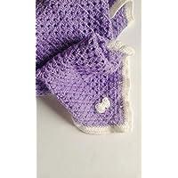 couverture bébé fait main au crochet